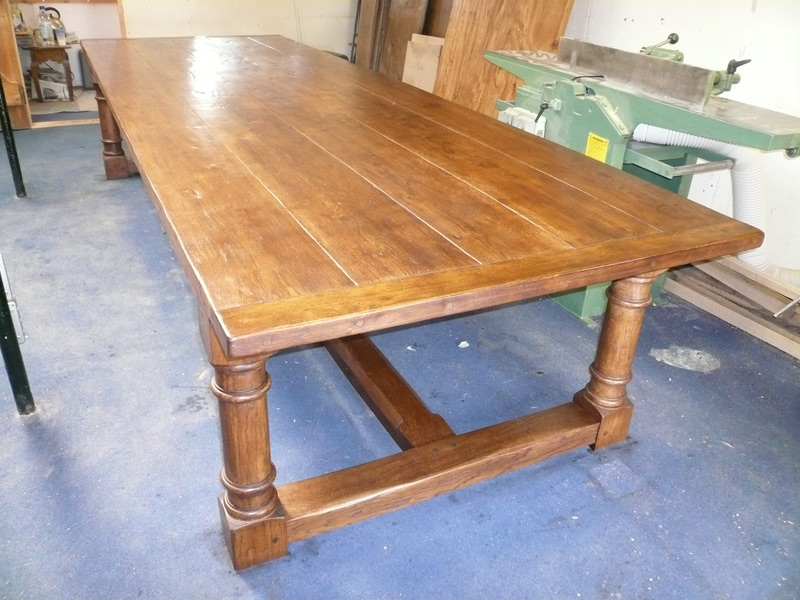 Oak Refectory Tables For Sale Made To Order Henley Oak Trestle Dining Table →