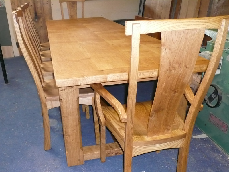 French farmhouse refectory table quercus furniture for 12 seater farmhouse table