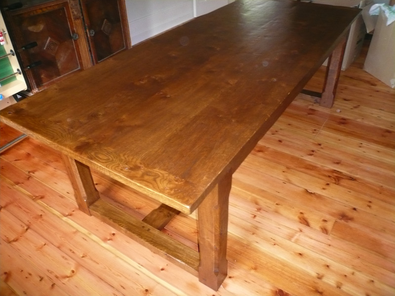 Classic Oak Refectory Dining Table With Stop Chamfered  : S N 2 from www.quercus-furniture.co.uk size 800 x 600 jpeg 138kB