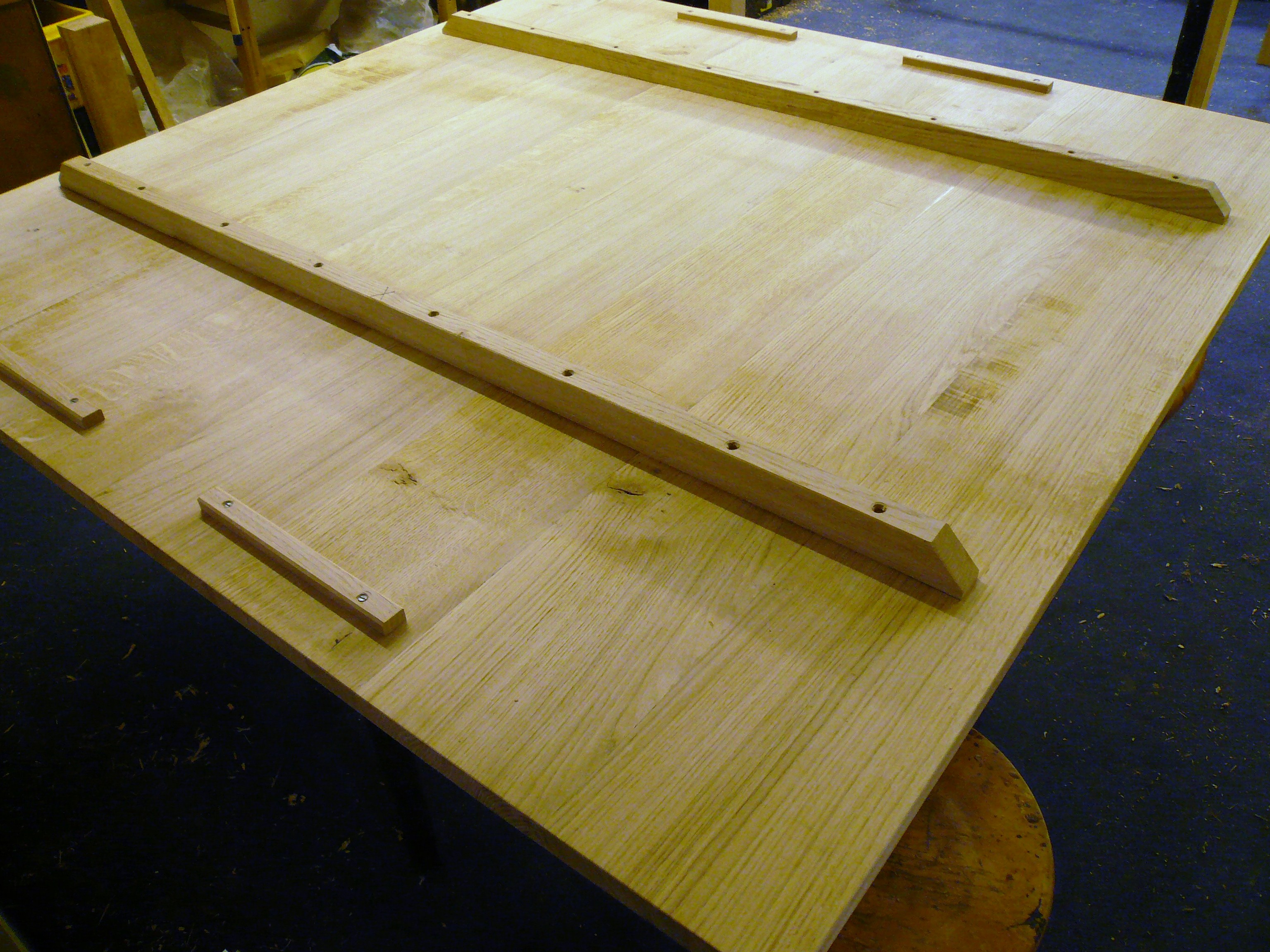 handmade square table project quercus furniture