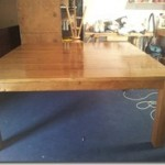Handmade Square Oak Table