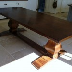 Bespoke Dining Table in Oak