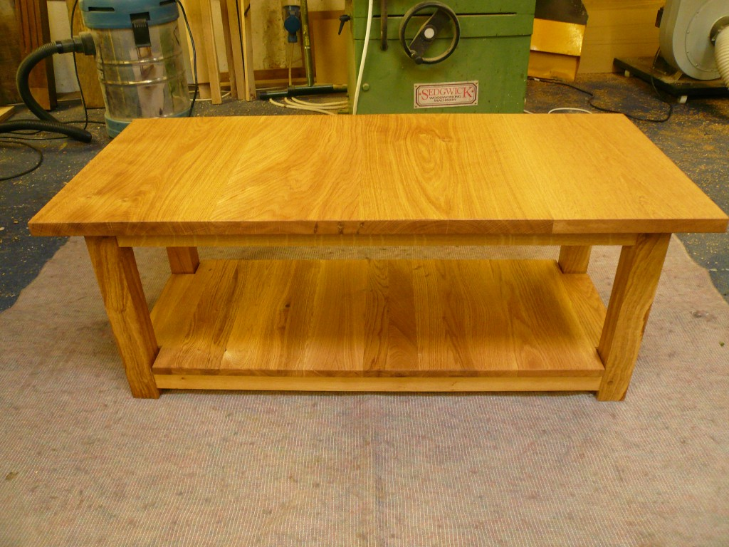 Handmade Oak Coffee Table Quercus Furniture