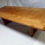 Handmade pippy Oak table for sale