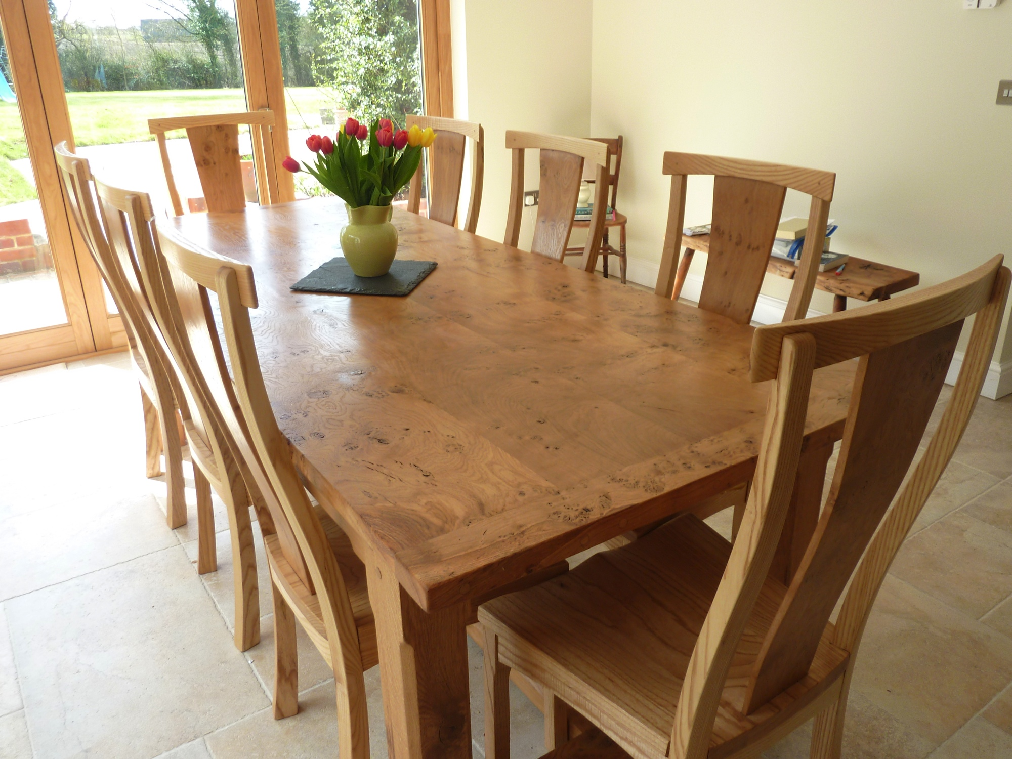 Oak Square Kitchen Tables And Chairs