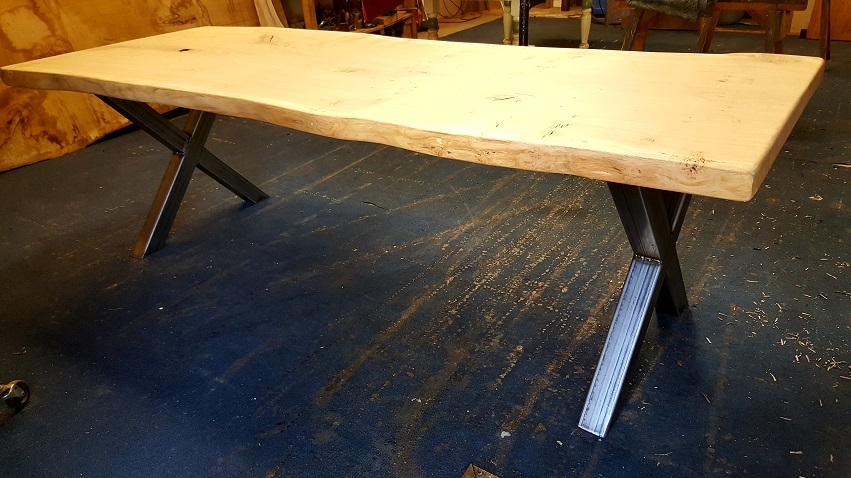 Bespoke Live Edge Dining Table (11)