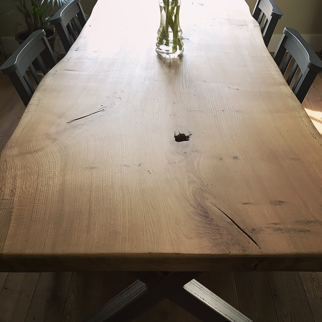 Bespoke Live Edge Dining Table (2)