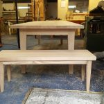 Scandi look dining table