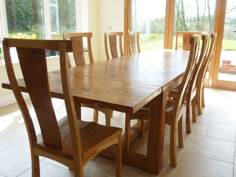 Handmade Extending Refectory Table - 8 to 12 Seater